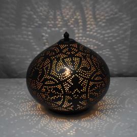Tafellamp Filigrain Zwart - Goud