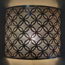 Wandlamp Bloem zilver Large