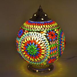 Mozaïeklamp bol Ø 25 multi-colour