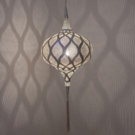 Zenza oosterse lamp Grace - Moorish- Zilver