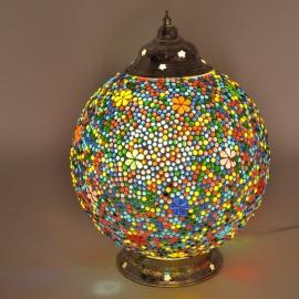 Mozaïeklamp bol Ø 25 Bloem