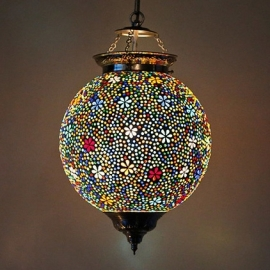Mozaïeklamp Bloem Ø 25