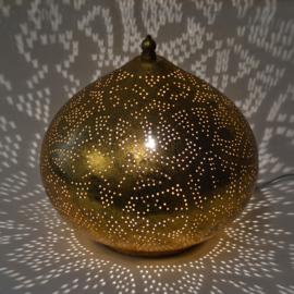 Tafellamp Filigrain Goud (Small of Large)