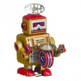 Robot tambour goud