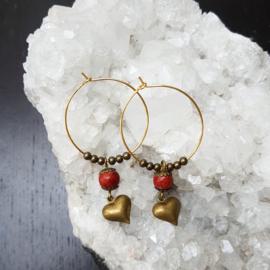 Creolen-goud-hartjes