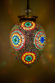 Mozaieklamp Papaja Multicolour Beads
