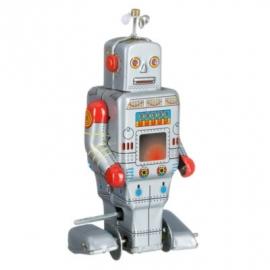 Robot zilver propellor