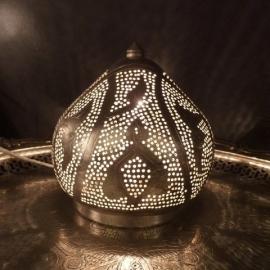 Tafellampje Filigrain zilver Mini