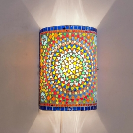 Wandlamp mozaiek Multi Colour