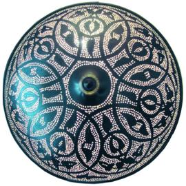 Plafondlamp filigrain oosters patroon Ø 48 Large