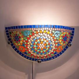 Wandlamp mozaiek  Multi-Colour