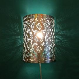 Oosterse filigrain wandlampen