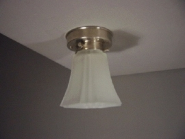 Plafondlamp vierkant kelkje