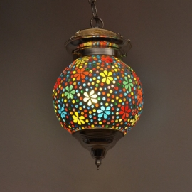 Hanglamp mozaiek Bloem Ø 15