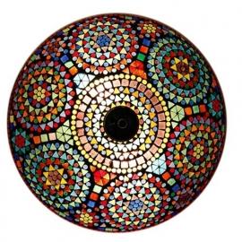 Mozaïek plafonnière Multi-Colour Ø 38 cm
