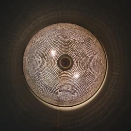 Filigrain plafondlamp Gaatjes  Ø 30
