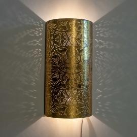 Filigrain Wandlamp Goud