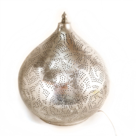 Tafellamp Filigrain Zilver