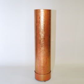 Filigrain vloerlamp Cilinder Vintage Koper