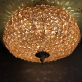 Plafondlamp knikker Amber