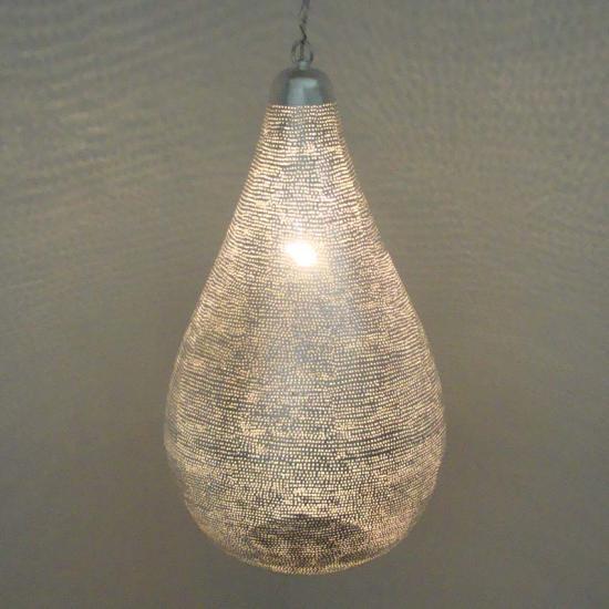 Fonkelnieuw Filigrainlamp zilver Druppel gaatjes XS t/m XL | Oosterse KT-13