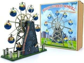 Musical ferris wheel