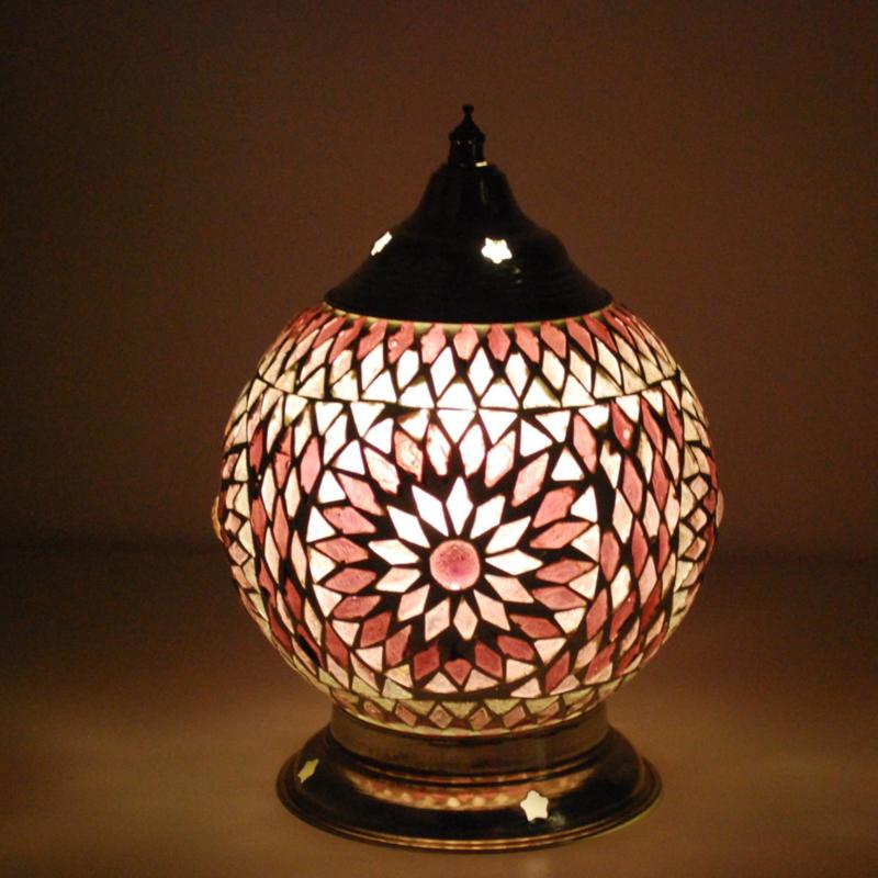Mozaieklamp Purple Ø 15