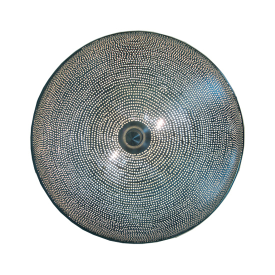Filigrain plafondlamp gaatjes  Ø 40 Medium
