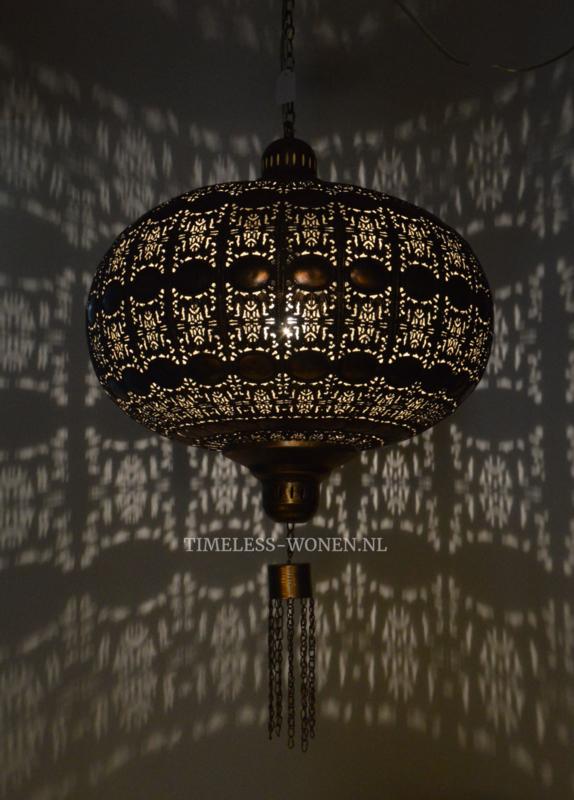 Filigrain lamp goud