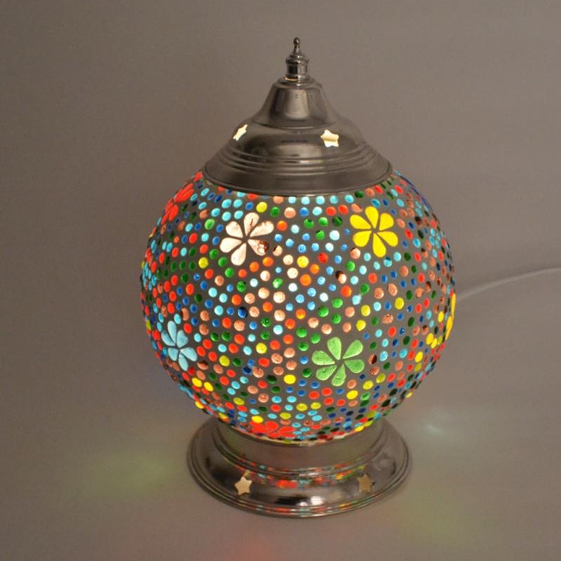 Mozaieklamp Bloem Ø 15