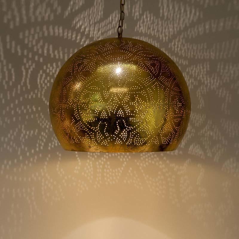 Uitgelezene Filigrain hanglamp goud | Oosterse filigrain hanglampen | TIMELESS NX-07
