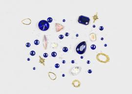 NailArt RhineStones blue