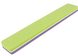 Premium Buffer File 120/180 Broad green purple