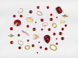 NailArt RhineStones red
