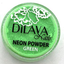 Neon powder green