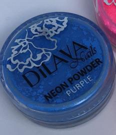 Neon powder Blue