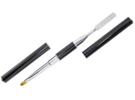 Acrylic-Gel Brush & Scoop DoubleSided