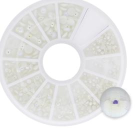 Half Pearls NailArt WheelBox