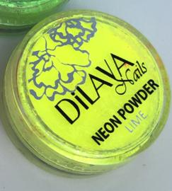 Neon powder Yellow