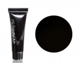 UV-Painting Gel 5ml. Achromatic Black