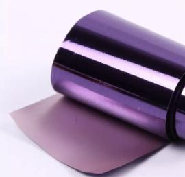 NAIL ART FOLIE 100x4 cm. Purple