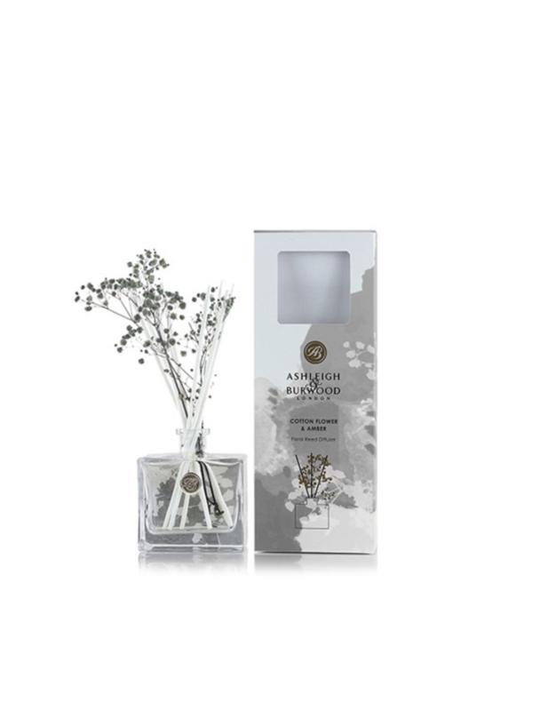 Cotton Flower & Amber Geurstokje