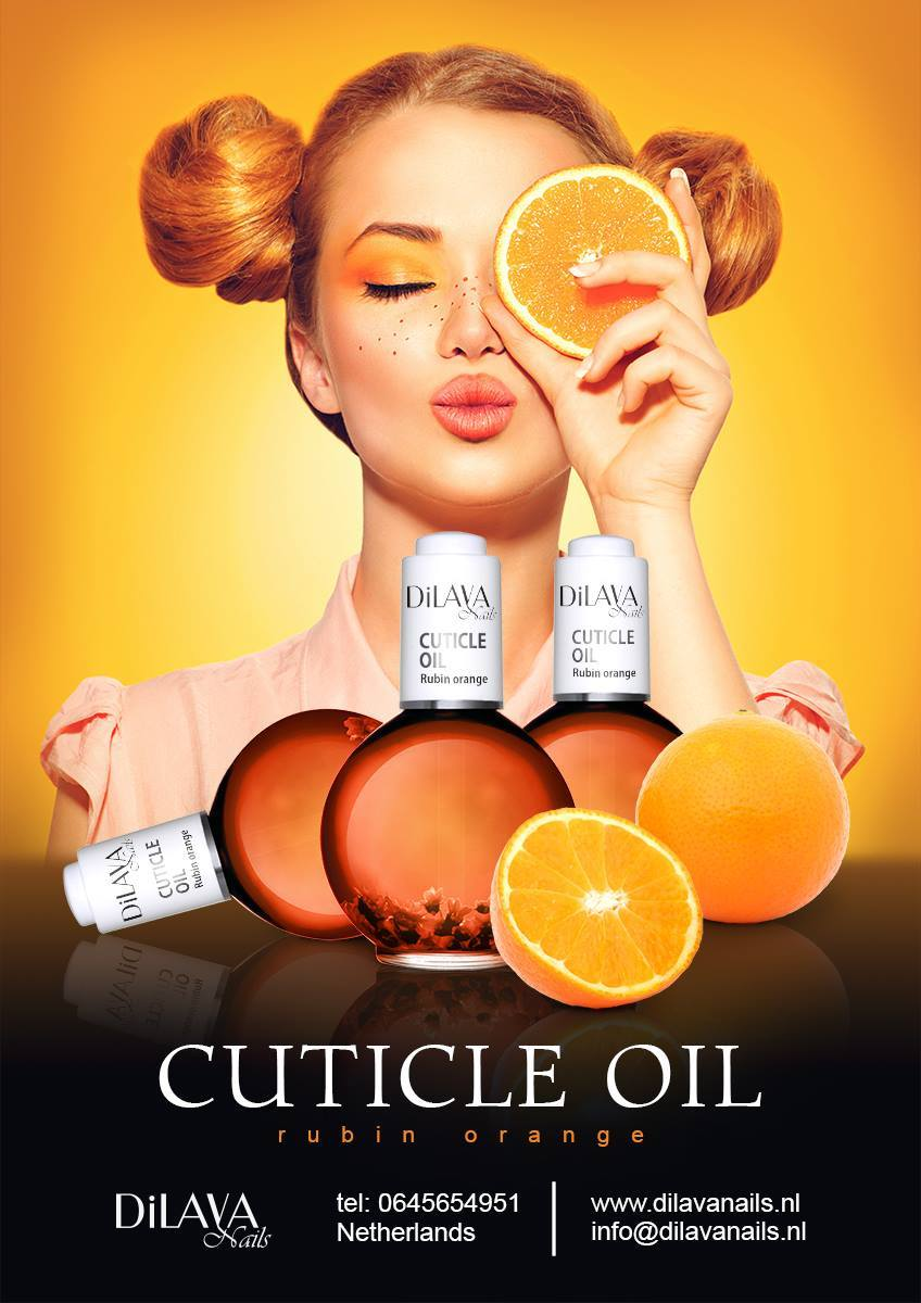 Orange Rubin Cuticle Oil