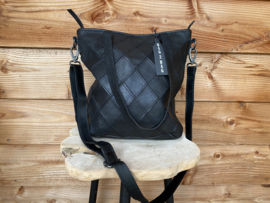 Bag2Bag shopper Madrid zwart