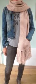 Roze shawl I love it!