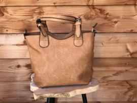 Okergele bag in bag tas