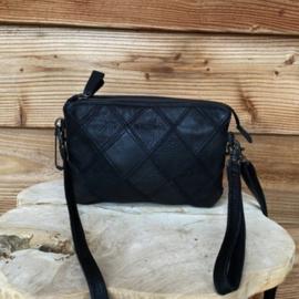 Bag2Bag  clutch Madrid zwart