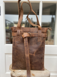 Revival by Leather Design Hunter Brown (laptoptas)