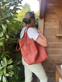 Bag in Bag tas Brique