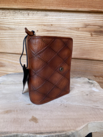 Bag2bag  wallet Madrid cognac